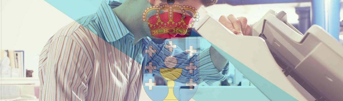 Ordenanzas y auxiliar administrativo de Galicia