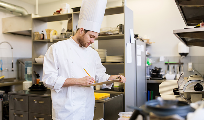 FP dirección de cocina formación