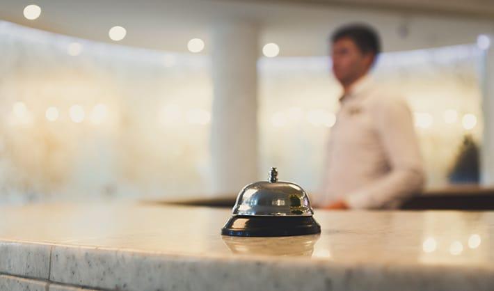 sueldo de un recepcionista de hotel