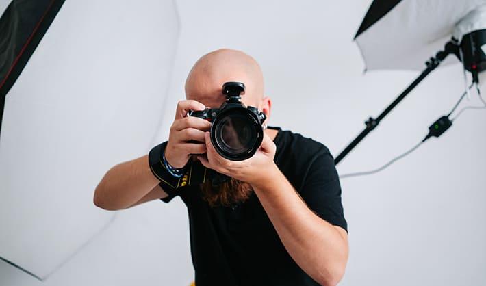 trabajo de fotógrafo